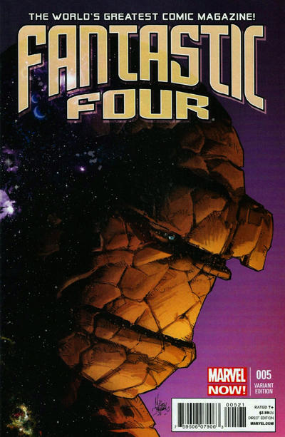 Cover for Fantastic Four (Marvel, 2013 series) #5