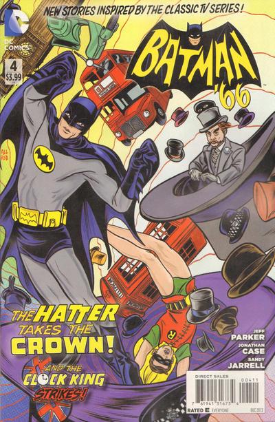 Cover for Batman '66 (DC, 2013 series) #4