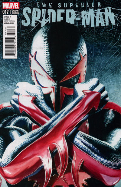 Cover for Superior Spider-Man (Marvel, 2013 series) #17 [Olivier Coipel Variant Cover]