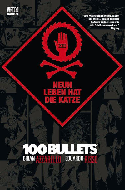 Cover for 100 Bullets (Panini Deutschland, 2007 series) #9 - Neun Leben hat die Katze