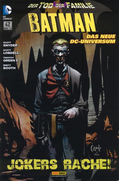 Cover for Batman Sonderband (Panini Deutschland, 2004 series) #42 - Der Tod der Familie