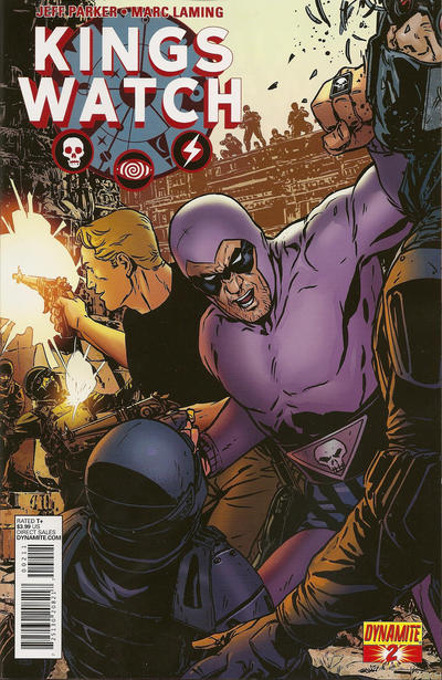 Cover for Kings Watch (Dynamite Entertainment, 2013 series) #2 [Exclusive Subscription Cover]