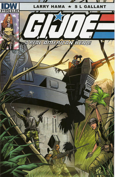 Cover for G.I. Joe: A Real American Hero (IDW, 2010 series) #195
