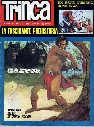 Cover for Trinca (Doncel, 1970 series) #17