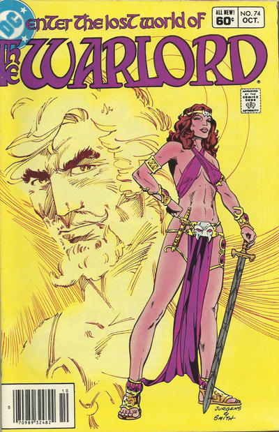 Cover for Warlord (DC, 1976 series) #74 [Direct-Sales]
