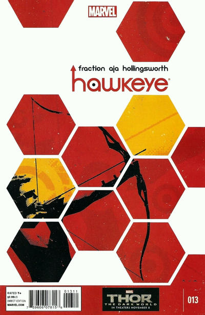 Cover for Hawkeye (Marvel, 2012 series) #13