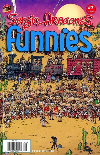 Cover for Sergio Aragonés Funnies (Bongo, 2011 series) #7