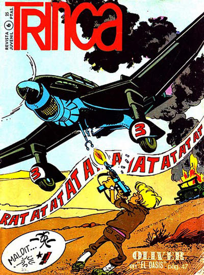Cover for Trinca (Doncel, 1970 series) #6