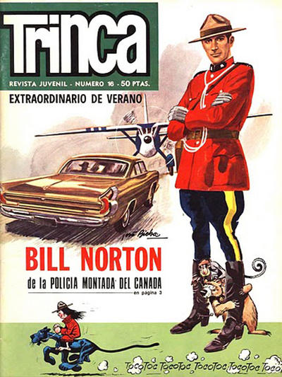 Cover for Trinca (Doncel, 1970 series) #16