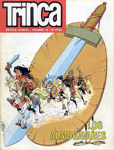 Cover for Trinca (Doncel, 1970 series) #19