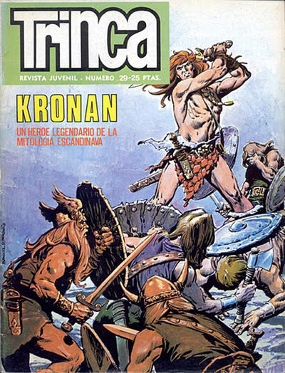 Cover for Trinca (Doncel, 1970 series) #29