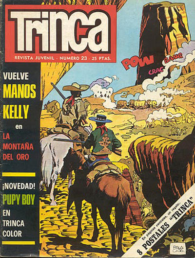 Cover for Trinca (Doncel, 1970 series) #23