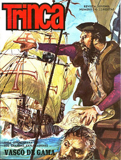 Cover for Trinca (Doncel, 1970 series) #24