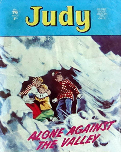 Cover for Judy Picture Story Library for Girls (D.C. Thomson, 1963 series) #76