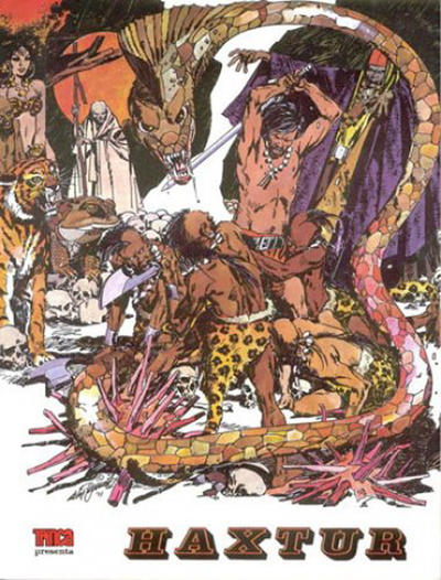 Cover for Colección Trinca (Doncel, 1971 series) #5 - Haxtur 1