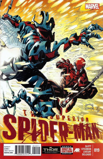 Cover for Superior Spider-Man (Marvel, 2013 series) #19 [Variant Cover by J. G. Jones]