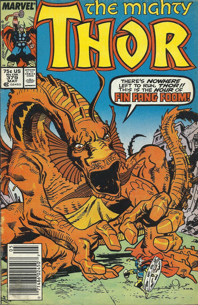 Cover for Thor (Marvel, 1966 series) #379 [Direct Edition]