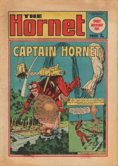 Cover for The Hornet (D.C. Thomson, 1963 series) #518