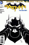 Cover Thumbnail for Batman (2011 series) #24 [Greg Capullo / Danny Miki Black & White Cover]