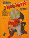 Cover for Captain Triumph Comics (K. G. Murray, 1947 series) #13