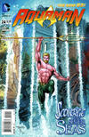 Cover for Aquaman (DC, 2011 series) #24
