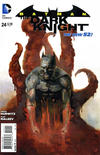 Cover for Batman: The Dark Knight (DC, 2011 series) #24 [Direct Sales]