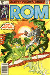Cover for ROM (Marvel, 1979 series) #3 [Newsstand Edition]