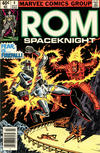 Cover for ROM (Marvel, 1979 series) #4 [Newsstand Edition]