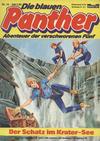 Cover for Die blauen Panther (Bastei Verlag, 1980 series) #14 - Der Schatz im Krater-See