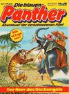 Cover for Die blauen Panther (Bastei Verlag, 1980 series) #4 - Der Herr des Dschungels