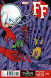 Cover for FF (Marvel, 2013 series) #13