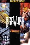 Cover for Bravura (Malibu, 1995 series) #1/2 [Regular Edition]