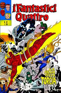 Cover Thumbnail for I Fantastici Quattro (Editoriale Corno, 1971 series) #97