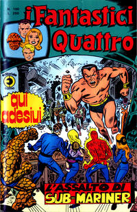 Cover Thumbnail for I Fantastici Quattro (Editoriale Corno, 1971 series) #100