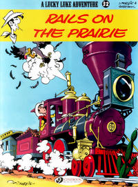 Cover Thumbnail for A Lucky Luke Adventure (Cinebook, 2006 series) #32 - Rails on the Prairie