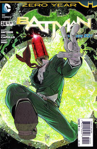 Cover Thumbnail for Batman (DC, 2011 series) #24 [Guillem March Cover]