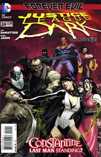 Cover Thumbnail for Justice League Dark (DC, 2011 series) #24
