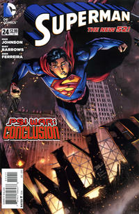 Cover Thumbnail for Superman (DC, 2011 series) #24