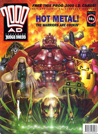 Cover for 2000 AD (Fleetway Publications, 1987 series) #781