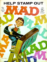 Cover Thumbnail for MAD (EC, 1952 series) #78 [25 cent cover]