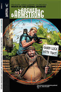 Cover Thumbnail for Archer & Armstrong (Valiant Entertainment, 2013 series) #2 - Wrath of the Eternal Warrior [Archer & Armstrong variant]