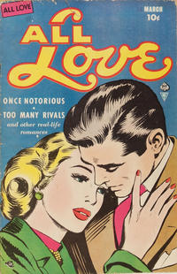 Cover Thumbnail for All Love (Ace International, 1949 series) #30