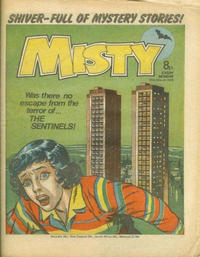 Cover Thumbnail for Misty (IPC, 1978 series) #25th March 1978 [8]