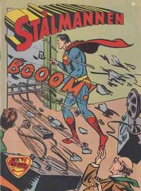 Cover Thumbnail for Stålmannen (Centerförlaget, 1949 series) #1/1961
