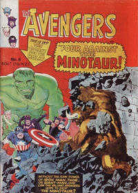 Cover Thumbnail for Avengers (Yaffa / Page, 1978 ? series) #6