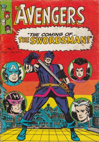 Cover Thumbnail for Avengers (Yaffa / Page, 1978 ? series) #7