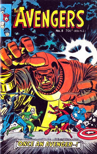 Cover Thumbnail for Avengers (Yaffa / Page, 1978 ? series) #8