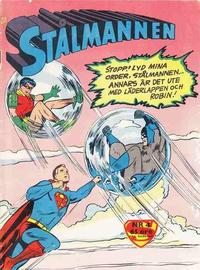 Cover Thumbnail for Stålmannen (Centerförlaget, 1949 series) #4/1961