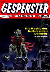 Cover Thumbnail for Gespenster Geschichten (Bastei Verlag, 1974 series) #33