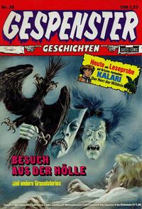 Cover Thumbnail for Gespenster Geschichten (Bastei Verlag, 1974 series) #38